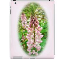 Pink Lupin Flowers iPad Case/Skin