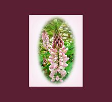 Pink Lupin Flowers Unisex T-Shirt
