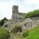 The Church on the rock. by Roy  Massicks