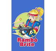 Rambo Brite Photographic Print