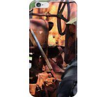 Rusty Tractor iPhone Case/Skin