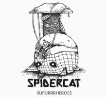Suupurrrheroes - Spidercat One Piece - Short Sleeve