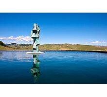 Statue in Napa Valley Photographic Print