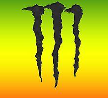 Rasta-Monster by CrewL Designs