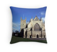 exeter cathedral Throw Pillow