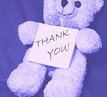 Sign BEARer - Thank You card by Stephen Thomas