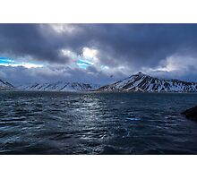 Kolgrafafjordur, Grundarfjordur, Snaefellsnes, Iceland Photographic Print