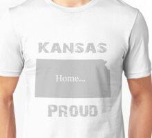 Kansas Proud Home Tee Unisex T-Shirt