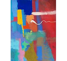 Abstract created with Soft Pastel Photographic Print