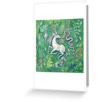 Unicorn Magic Greeting Card