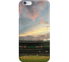 Sunset at Yankee Stadium Night Game iPhone Case/Skin