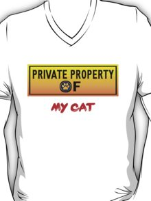 Private Property of My Cat T-Shirt