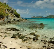 Jumbie Beach, St. John by Stephen Vecchiotti