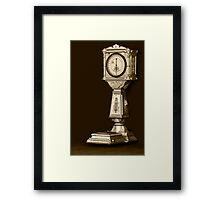 Weight A Minute! Framed Print
