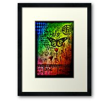 Arrested Motion Framed Print