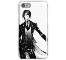 Simple Sebastian Michaelis iPhone Case/Skin