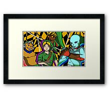 Majora's Mask All-out Attack Framed Print