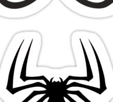 Spiderman Eyes And Logo Sticker