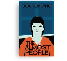 The Almost People Canvas Print