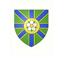 Abbotsford Coat of Arms Art Print