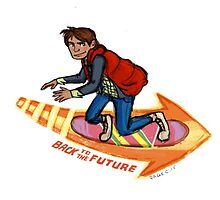Marty Mcfly by animatorpager
