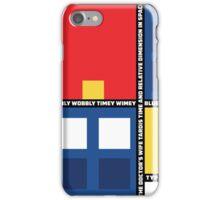 Mondrian Who iPhone Case/Skin