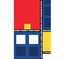 Mondrian Who Photographic Print
