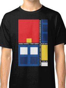 Mondrian Who Classic T-Shirt