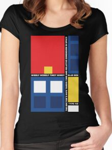 Mondrian Who Women's Fitted Scoop T-Shirt
