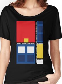 Mondrian Who Women's Relaxed Fit T-Shirt
