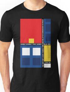 Mondrian Who Unisex T-Shirt