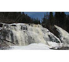 Lower Mink Falls - Marathon, Ontario Photographic Print