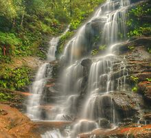 Sylvia Falls in HDR by Michael Matthews
