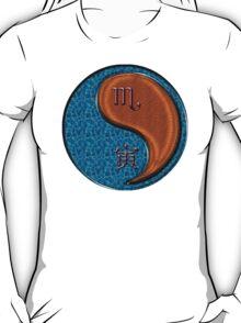 Scorpio & Tiger Yang Wood T-Shirt