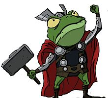 Thor, Frog of Thunder by emwsabre52