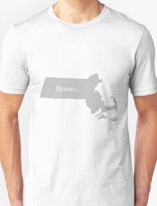 Massachusetts Home Tee T-Shirt