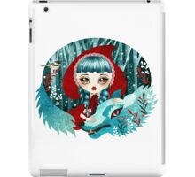 Red of the Woods iPad Case/Skin