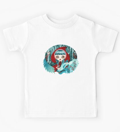 Red of the Woods Kids Tee