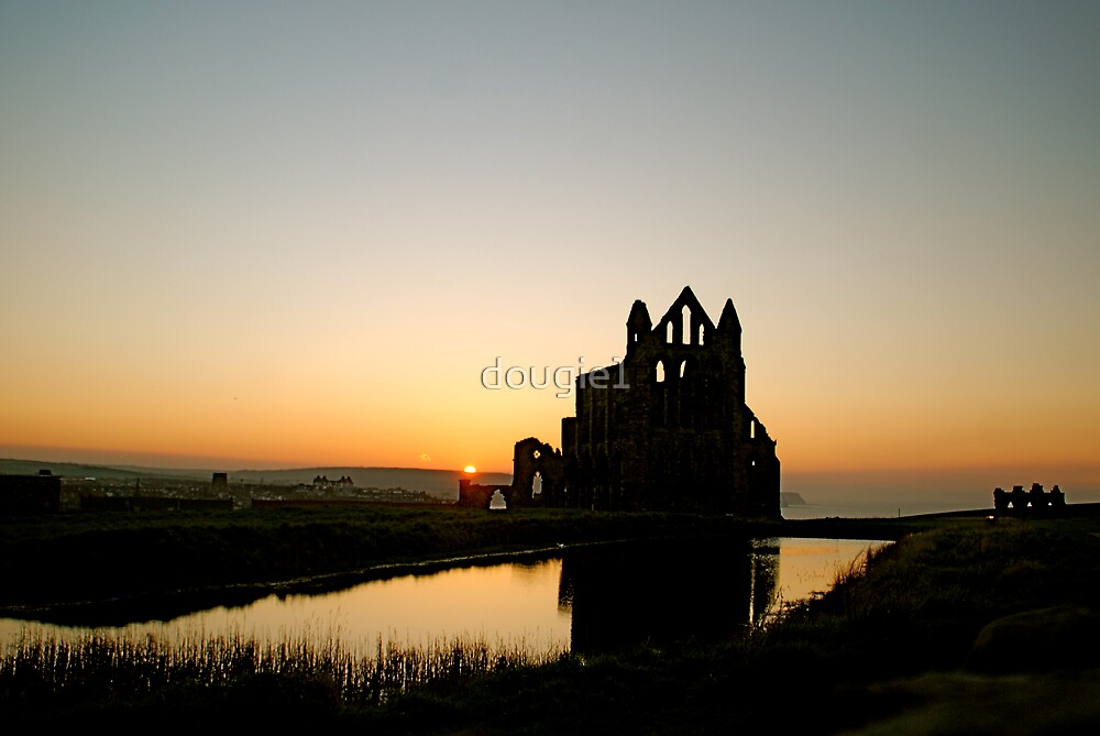 Whitby Abbey Tonight by dougie1