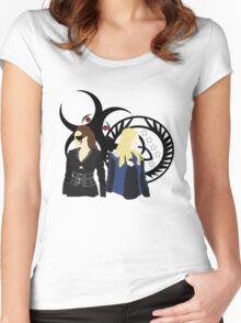 Clexa - When Worlds Collide  Women's Fitted Scoop T-Shirt