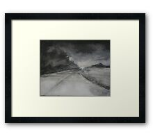 Night Driving, On Coming Framed Print