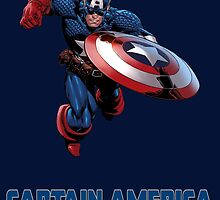 Captain America by AvatarSkyBison