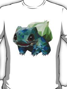 Low Poly Bulbasaur T-Shirt