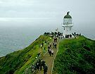 Cape Reinga Lighthouse, New Zealand. by Roy  Massicks