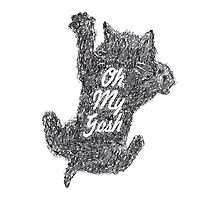 Oh My Gosh Tee Photographic Print