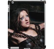 Yulia in the Iron Bra iPad Case/Skin