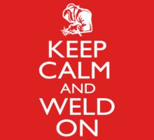 KEEP CLAM and WELD ON Kids Clothes