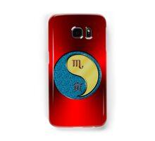 Scorpio & Tiger Yang Metal Samsung Galaxy Case/Skin