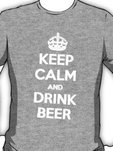 Keep Calm Drink Beer T-Shirt
