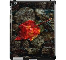 Listen to the Autumn Rain iPad Case/Skin